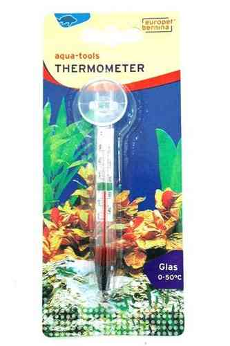 Glasthermometer mit Sauger
